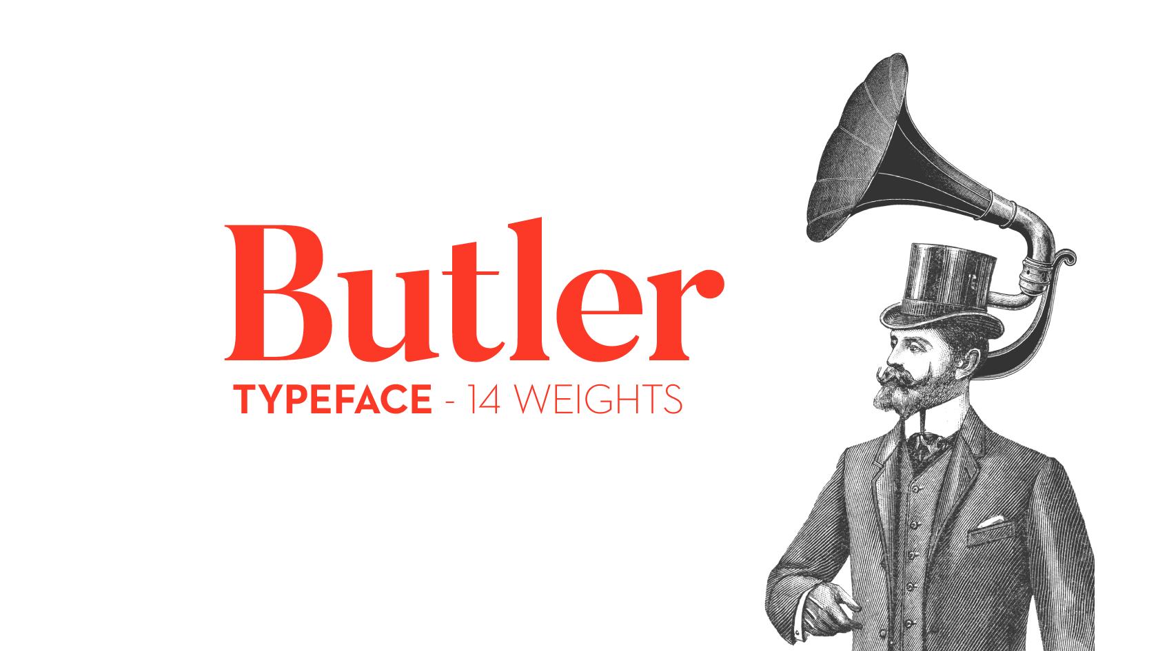 Butler Font Download